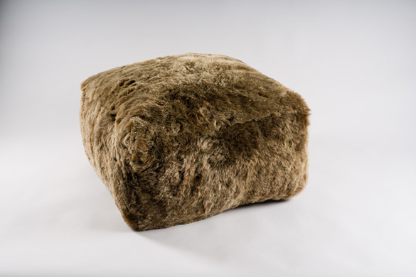 WOOLY OTTOMAN