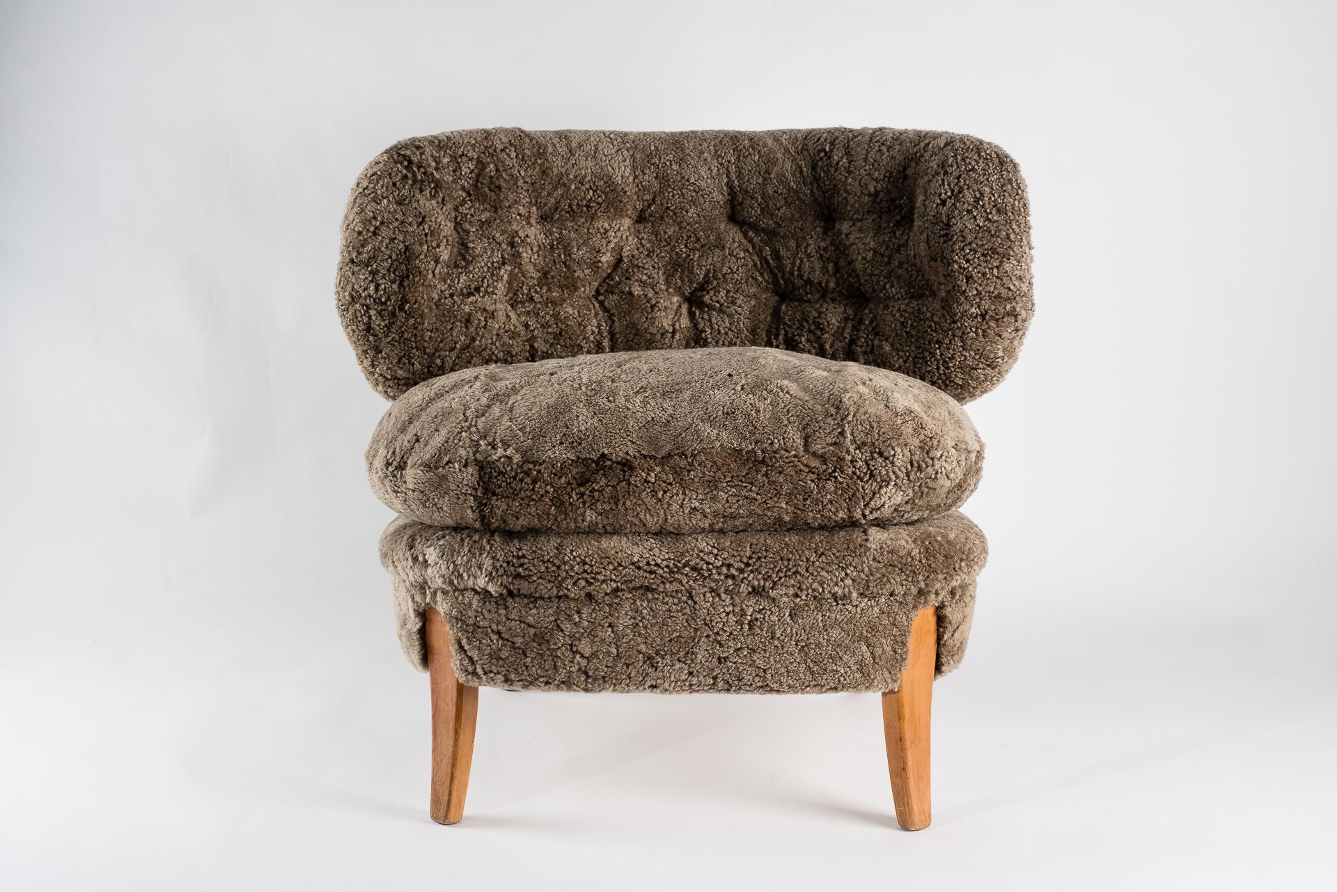 Pair of Otto Schultz armchairs